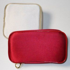 2 new Estee Lauder made up cases.
